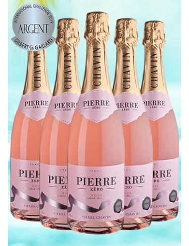 Offre Spéciale Pierre 0% Effervescent Rosé sans alcool