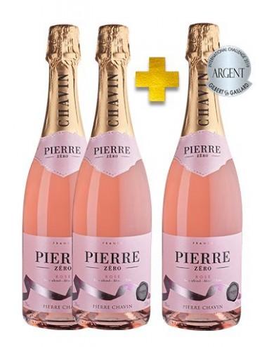 Pierre 0% Mousseux Rosé sans alcool