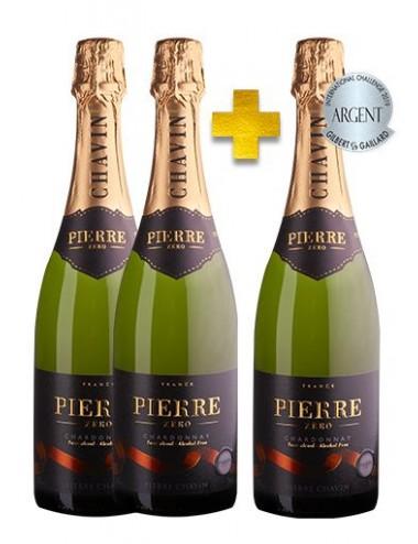 Pierre 0% Mousseux Blanc sans alcool